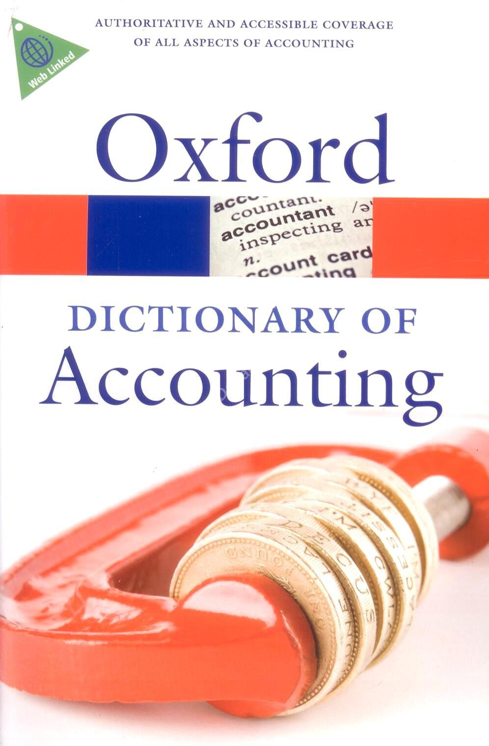 Oxford Dictionary of Accounting (4th Edition)