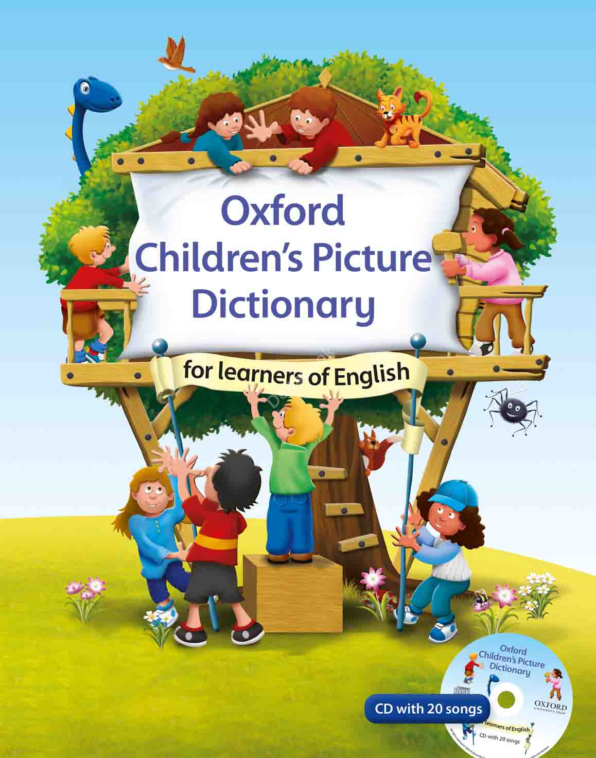 Oxford Children's Picture Dictionary for learners of English + Audio CD