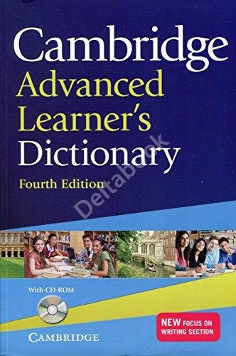 Cambridge Advanced Learner's Dictionary + CD-ROM (4th edition)