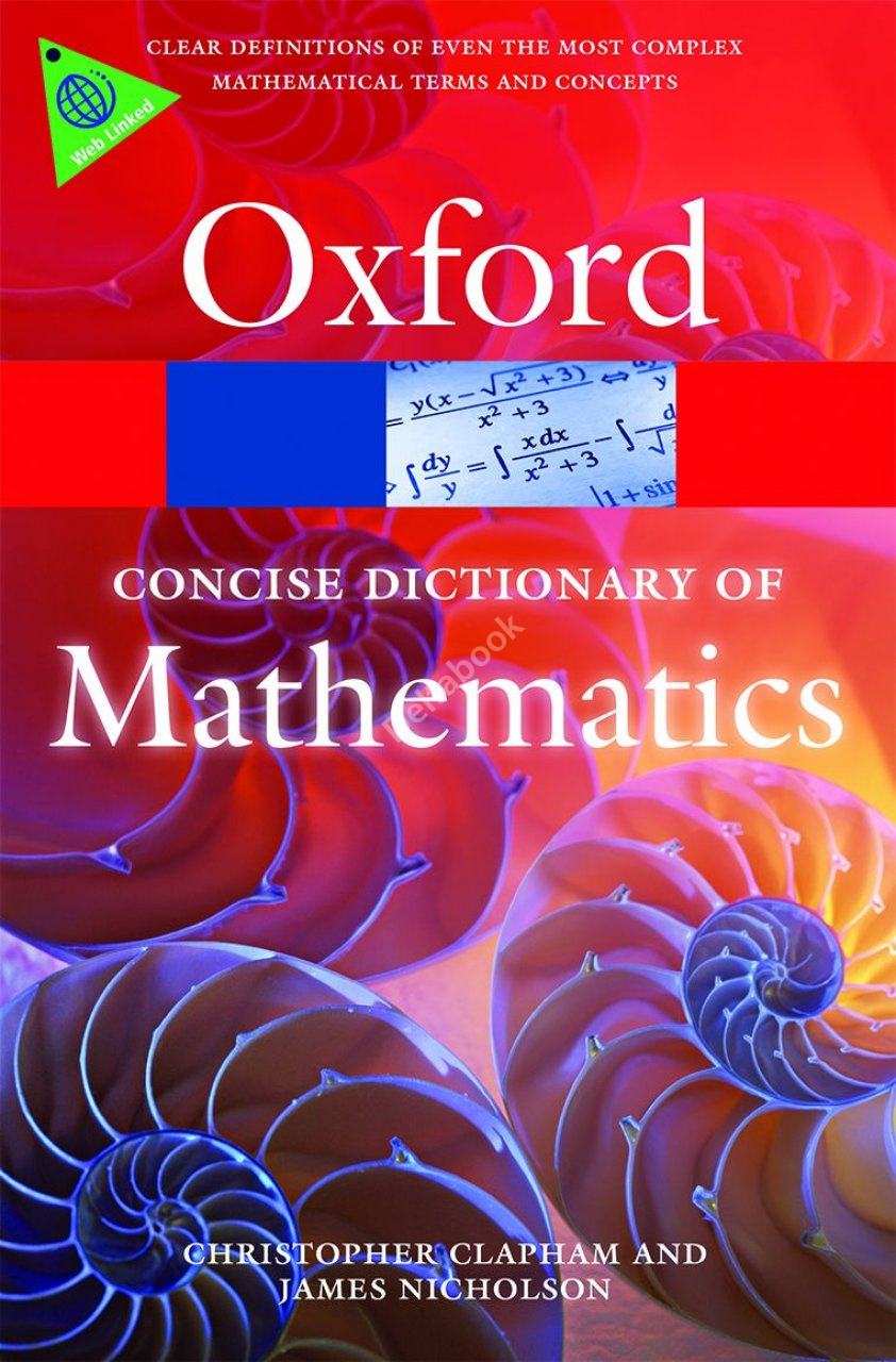Oxford Concise Dictionary of Mathematics (5th Edition)
